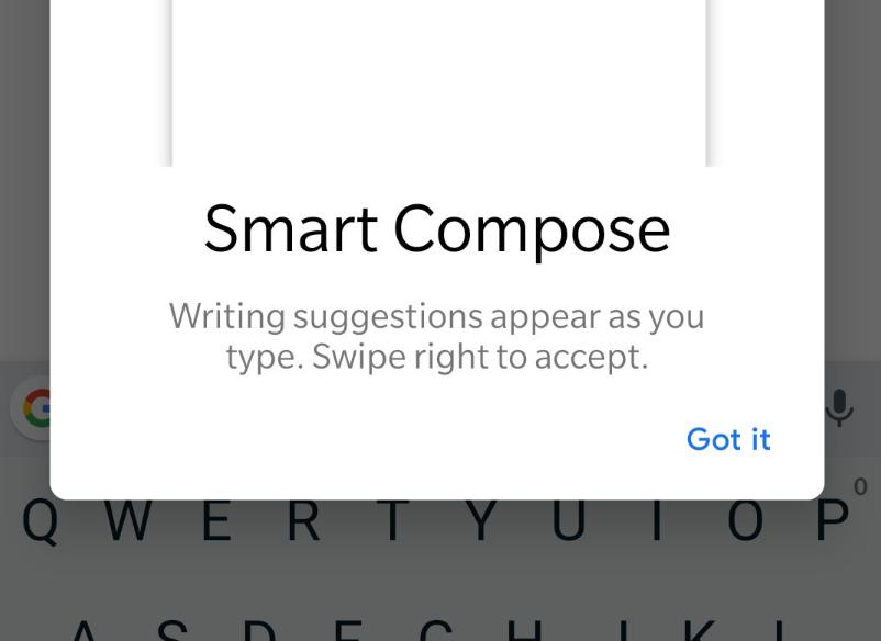 ميزة Smart Compose الخاصة بجيميل متاحة الآن لجميع مستخدمي أندرويد