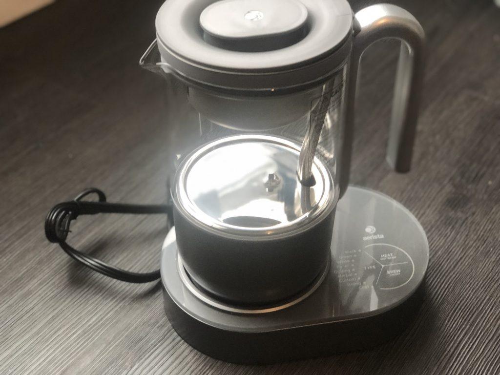 للاختبار: Qi Aerista المحترفة ، أداة محبي الشاي الذكية!