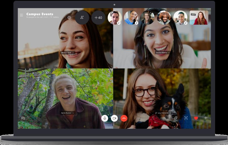 رسميًا تطبيق سكايب يدعم الاتصال الصوتي أو المرئي لـ 50 شخص دفعة واحدة