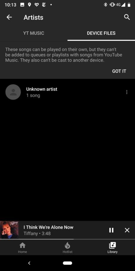 تطبيق YouTube Music يدعم الآن تشغيل الصوتيات المحفوظة على الهاتف من داخله - يوتيوب