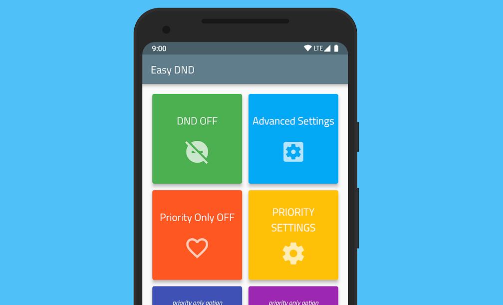 """جديد التطبيقات Easy DND يُقدّم ميزات """"وضع عدم الإزعاج"""" في واجهة مبسطة"""