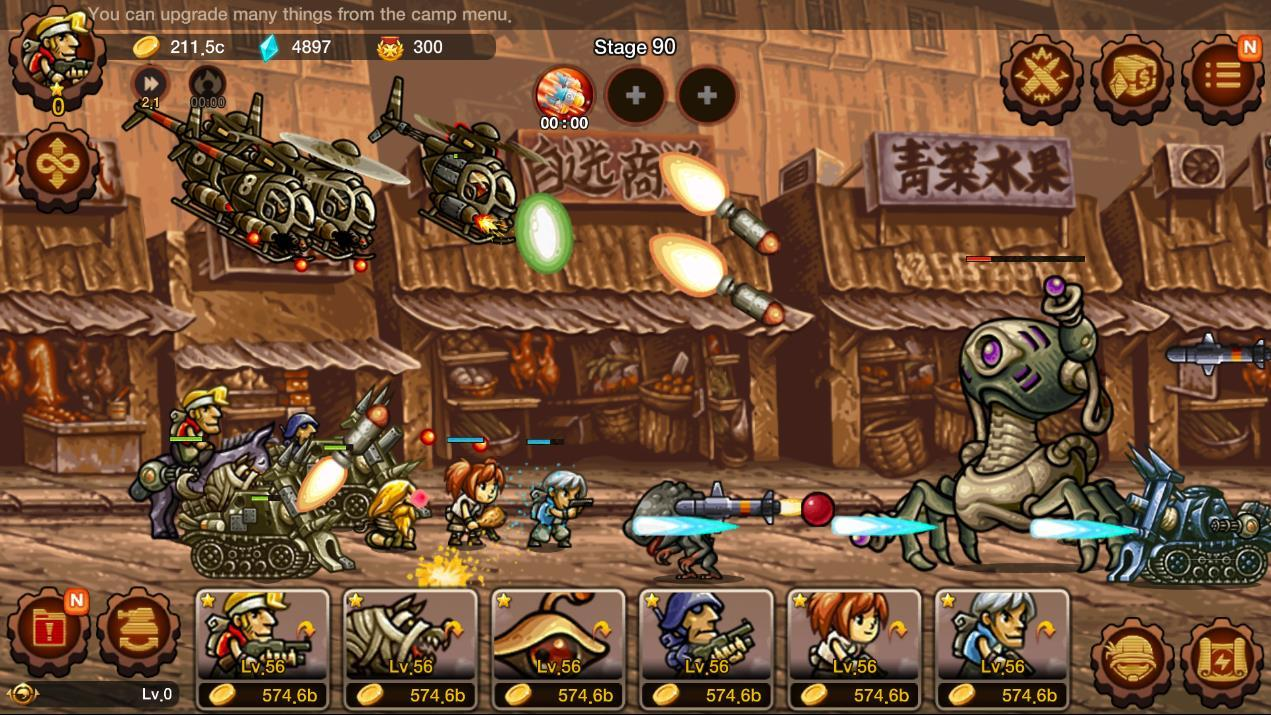 لعبة Metal Slug Infinity متاحة الآن ورسميًا على أندرويد
