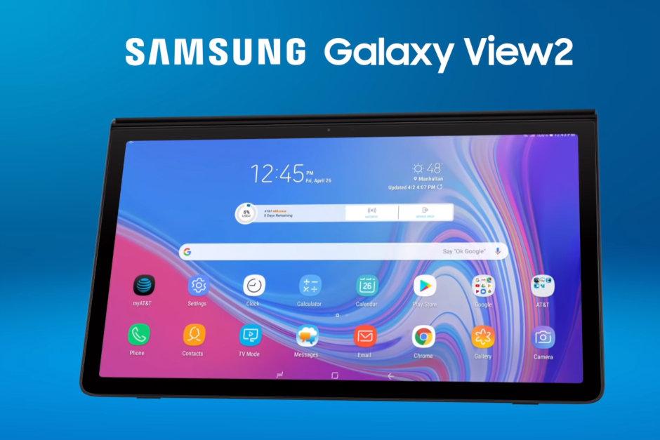 سامسونج تكشف عن الجهاز اللوحي الضخم Galaxy View 2
