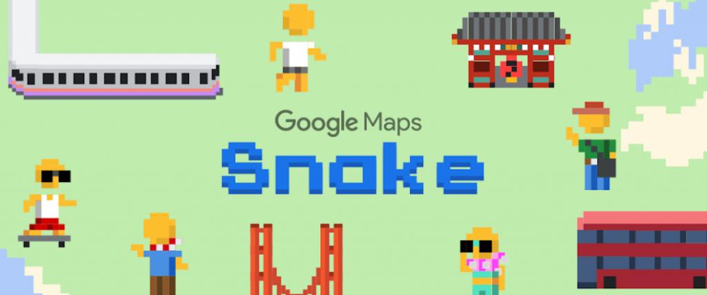 خرائط قوقل تضيف لعبة الثعبان للمستخدمين وبطريقة مختلفة