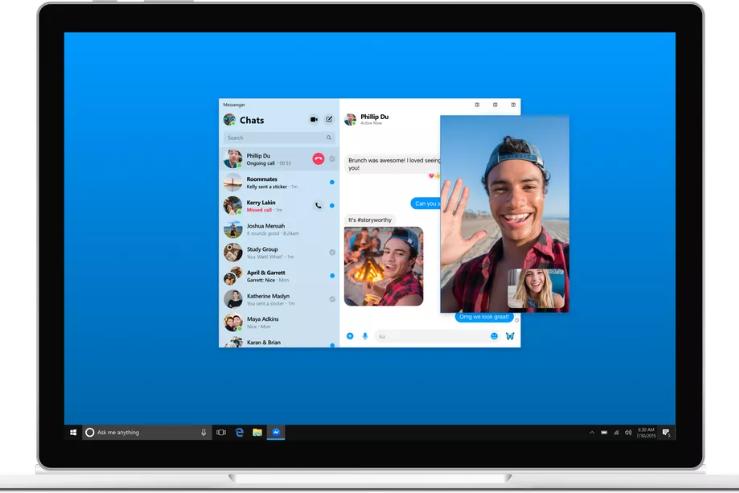 فيسبوك تعد بأمان أكثر في تطبيقات المحادثة وتعلن عن نسخة ماسنجر خاصة لسطح المكتب