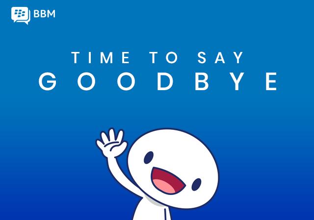 بلاكبيري تعلن إغلاق تطبيق المراسلة BBM في مايو المقبل