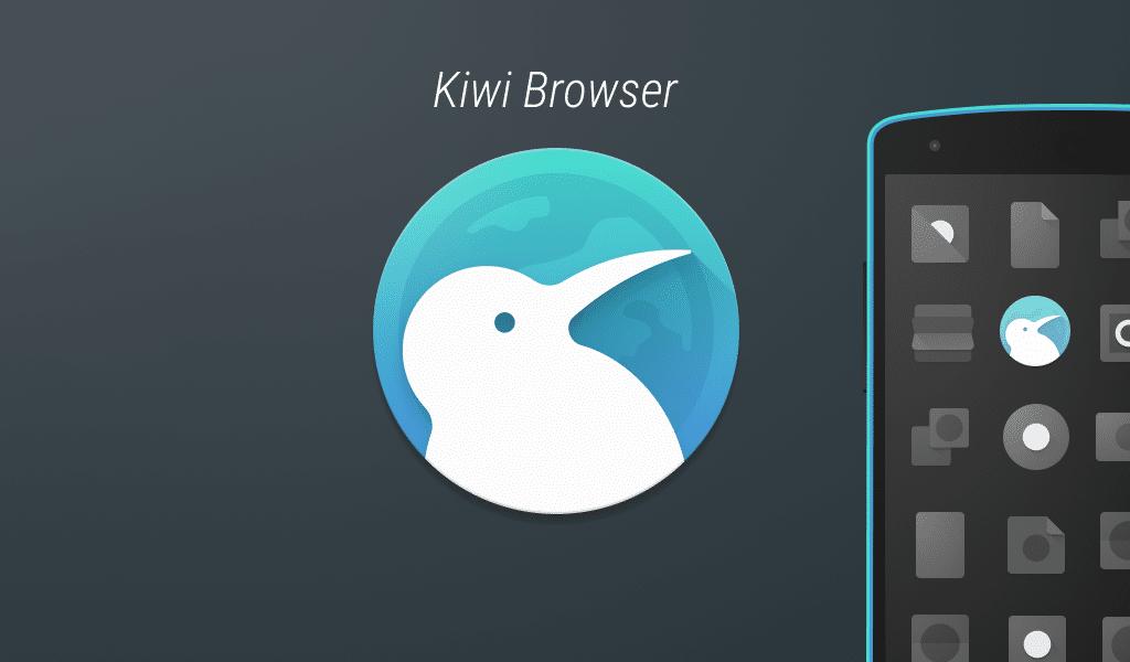 الآن متصفّح Kiwi المستند إلى كروميوم مفتوح المصدر بالكامل