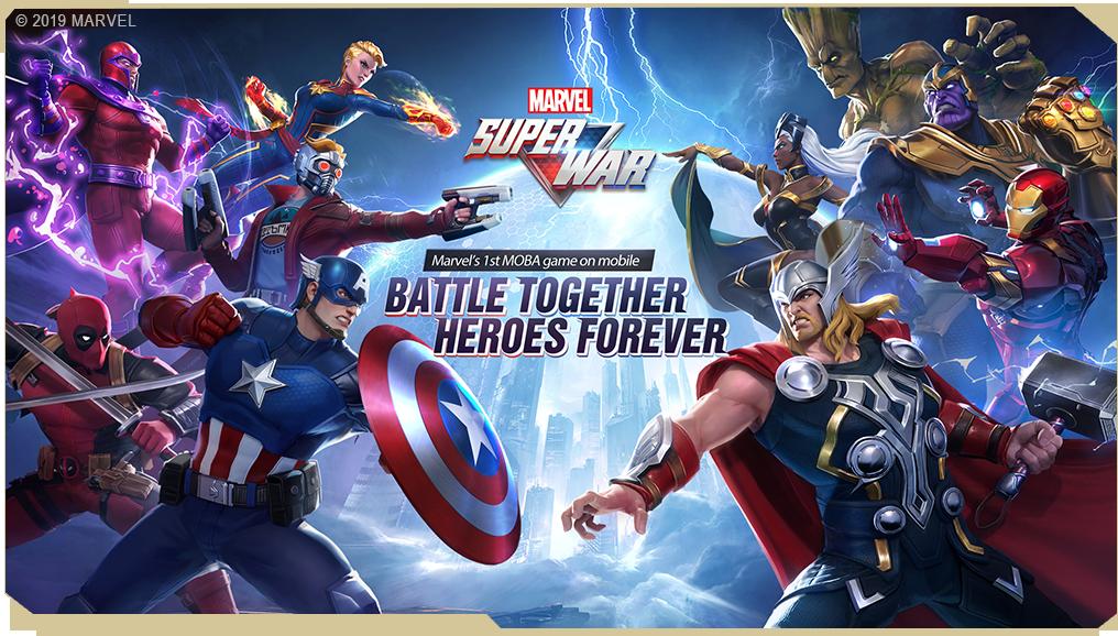 لعبة Marvel Super War متاحة الآن كإصدار تجريبي مغلق على أندرويد و iOS