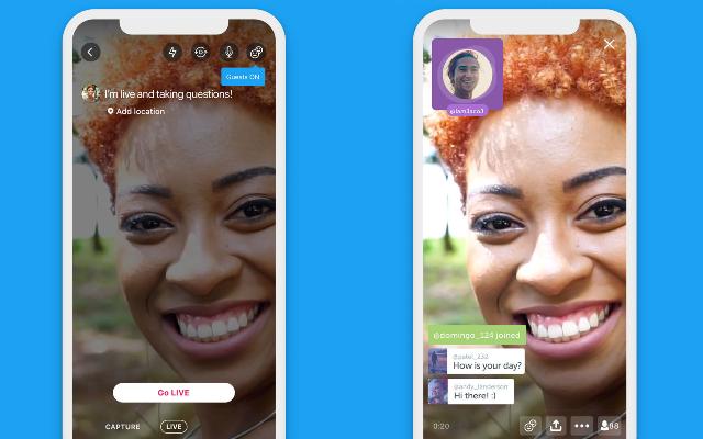 تويتر توفد خاصية جديدة لتطبيقها تتيح استضافة المشاهدين خلال البث المباشر