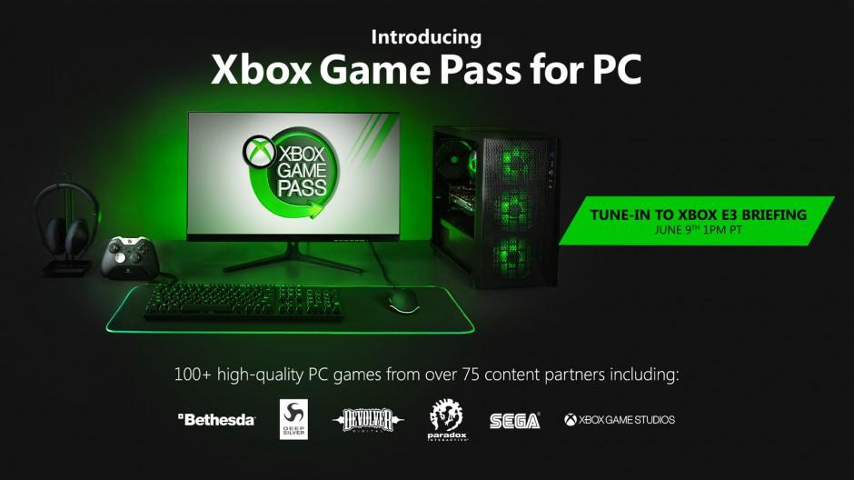 مايكروسوفت تعلن عن خدمة اشتراكات اللعب Xbox Game Pass عبر ويندوز