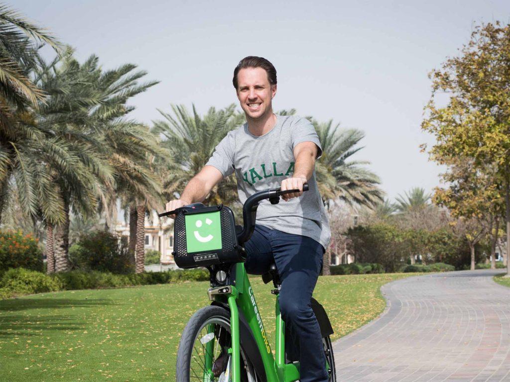 """كريم تستحوذ على تطبيق مشاركة الدراجات الإماراتي """"سياكل"""""""
