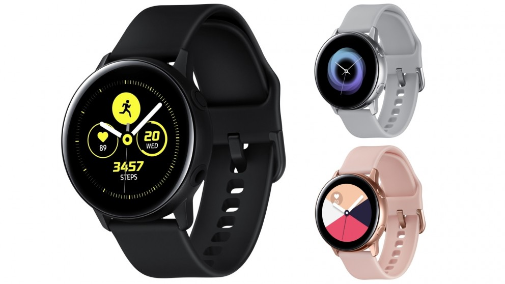 ساعة سامسونج Galaxy Watch Active 2 ستجلب متعقب لقياس كهربائية القلب