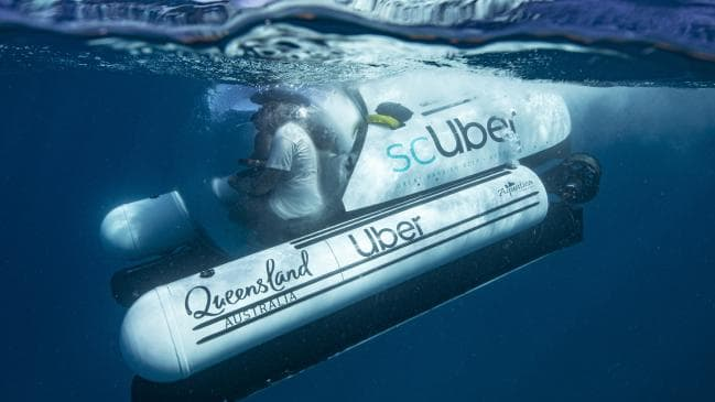 أوبر تطلق خدمة scUber الأولى من نوعها لمشاركة الغواصات