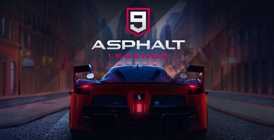 لعبة Asphalt 9: Legends في طريقها إلى نينتندو سويتش - Gameloft