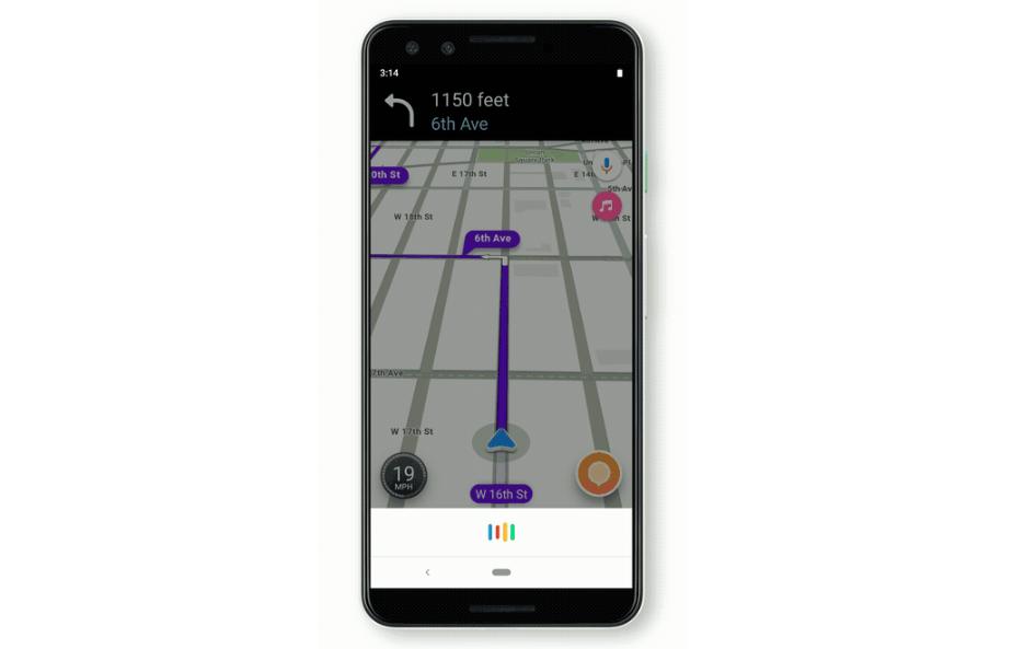 أخيرًا وصول مساعد قوقل إلى تطبيق Waze