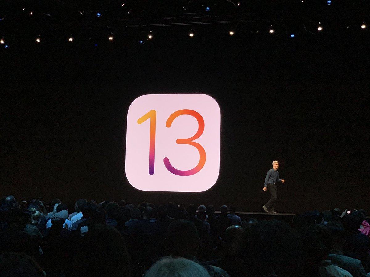 مؤتمر آبل: التركيز على سرعة الاداء في iOS 13 ودعم الوضع الليلي وتحسينات شاملة