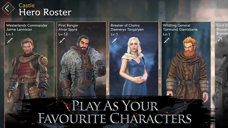 """لعبة صراع العروش """"Game of Thrones Beyond the Wall"""" متاحة الآن للطلب المُسبق"""
