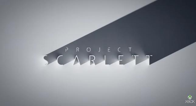 """مايكروسوفت تكشف تفاصيل عن وحدة ألعابها القادمة """"اكس بوكس سكارليت"""" وموعد إطلاقها خريف 2020"""