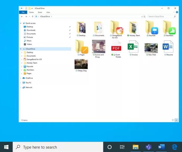 آبل ومايكروسوفت أنتجتا معاً تطبيق iCloud جديد لنسخة الويندوز متوفر الآن على متجر مايكروسوفت