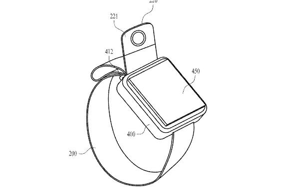 آبل تسجل براءة اختراع لطراز جديدة من ساعتها الذكية مزود بكاميرا