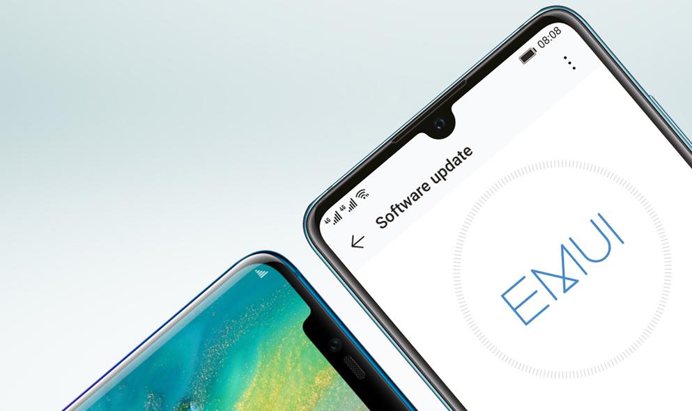 تحديث EMUI 9.1 أصبح متاحًا لسلسلة هواتف هواوي مايت 20