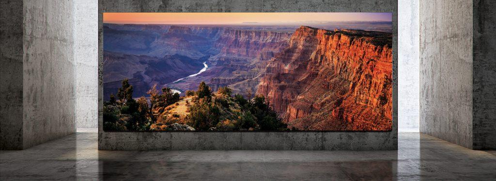سامسونج تعلن عن تلفزيون The Wall Luxury بقياس يصل 292 بوصة ودقة 8K
