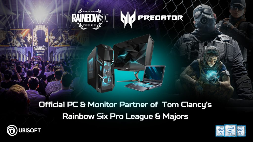 شركة Ubisoft تطلق النسخة المحدّثة من دوري Rainbow Six Pro برعاية آيسر