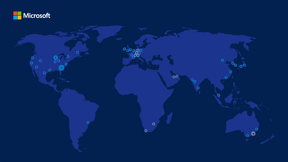 مايكروسوفت تنشئ مراكز بيانات في الامارات العربية المتحدة ، الخدمات السحابية
