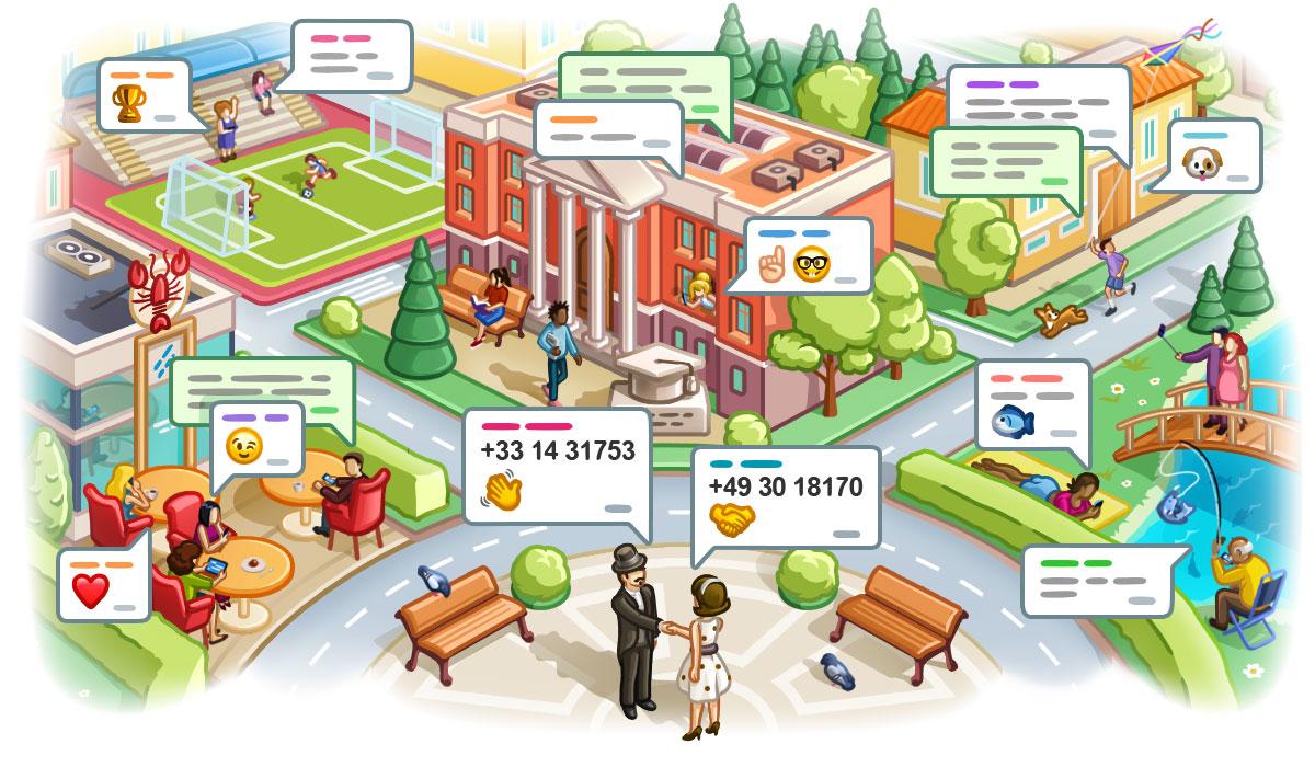 تحديث تيليجرام يتيح لك إرسال رقمك للاشخاص القريبين وإنشاء مجموعة تعتمد على الموقع
