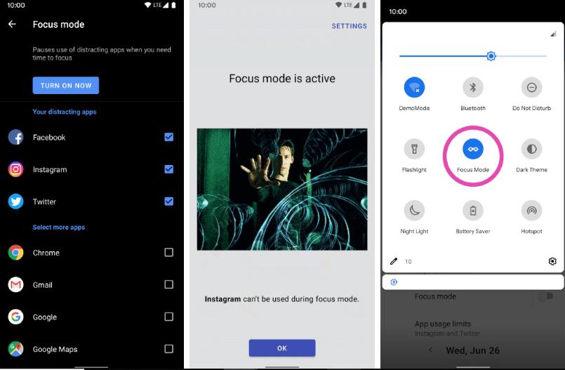 في تحديثه الأخير يتفوّق تطبيق ActionDash على أدوات الرفاهة الرقمية من قوقل