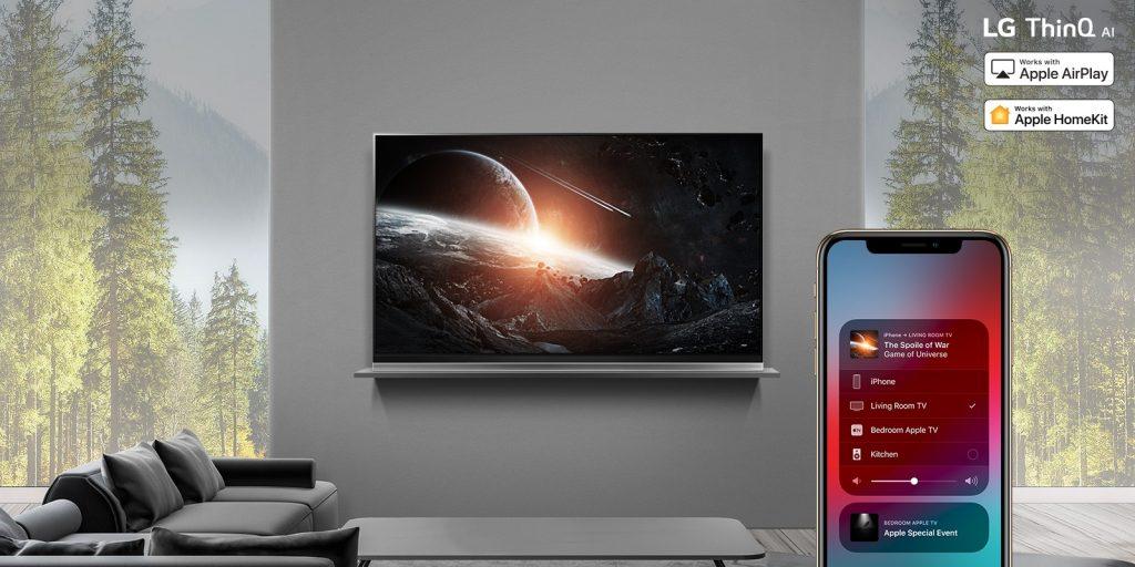 LG - تلفزيونات إل جي 2019 ستبدأ دعم AirPlay 2 و HomeKit من آبل