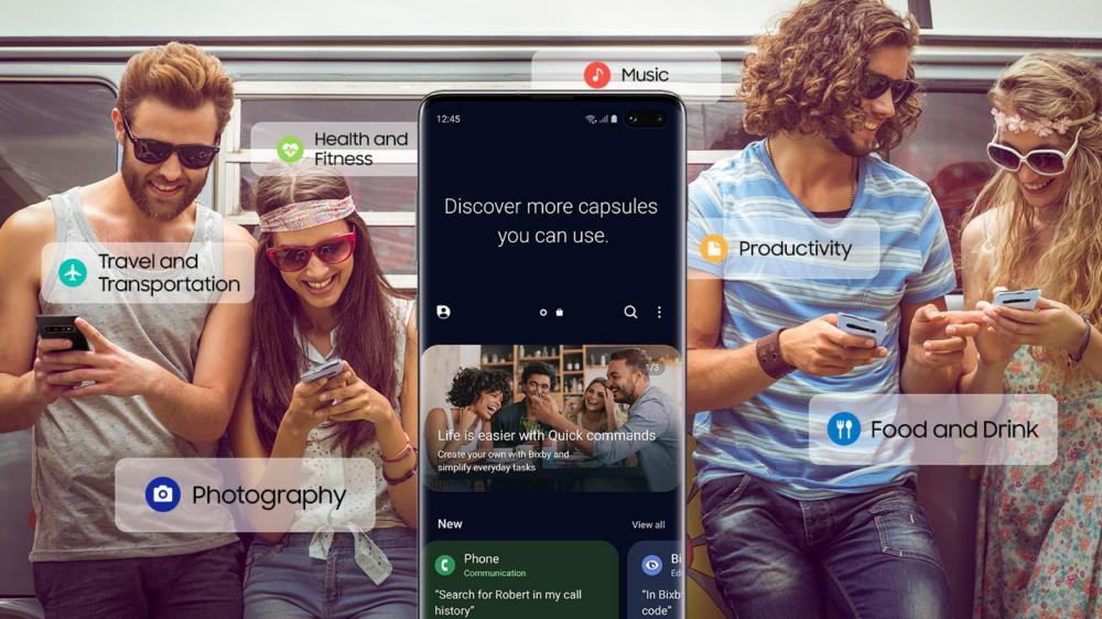 سامسونج تُطلق متجرًا لمساعدها الصوتي Bixby لتنافس أليكسا و قوقل هوم