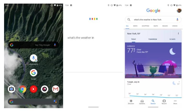 جوجل تتخلى عن البحث الصوتي لصالح المساعد الصوتي