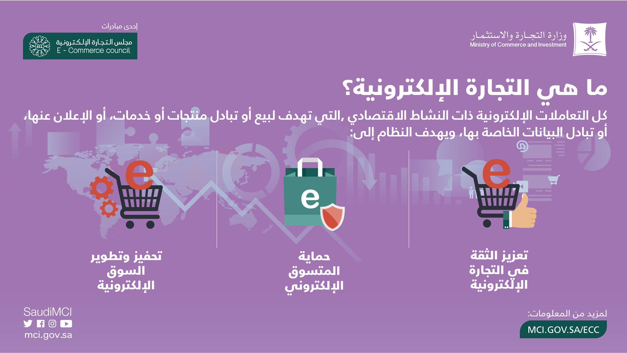 مجلس الوزراء السعودي يصادق على نظام التجارة الإلكترونية في المملكة