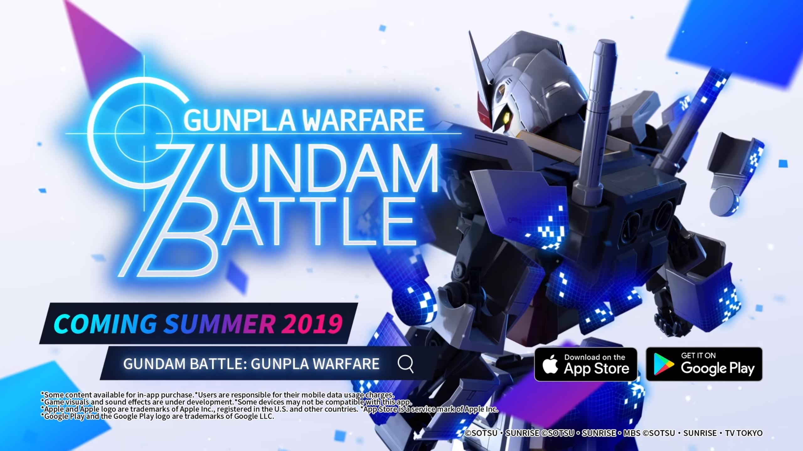 رسميًا لعبة Gundam Battle: Gunpla Warfare متاحة على أندرويد و iOS
