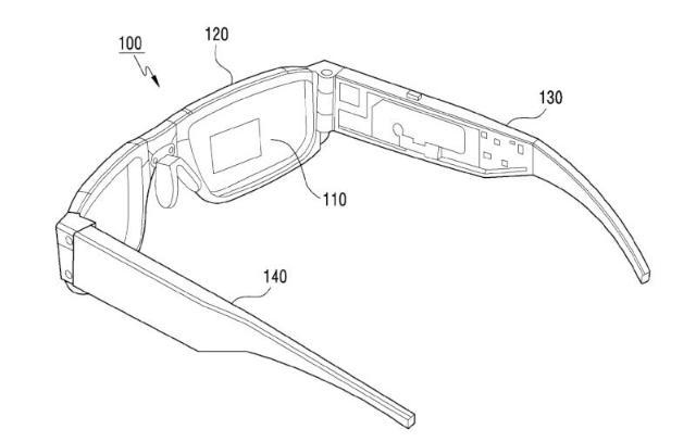 براءة اختراع من سامسونج لنظارة واقع معزز قابلة للطي