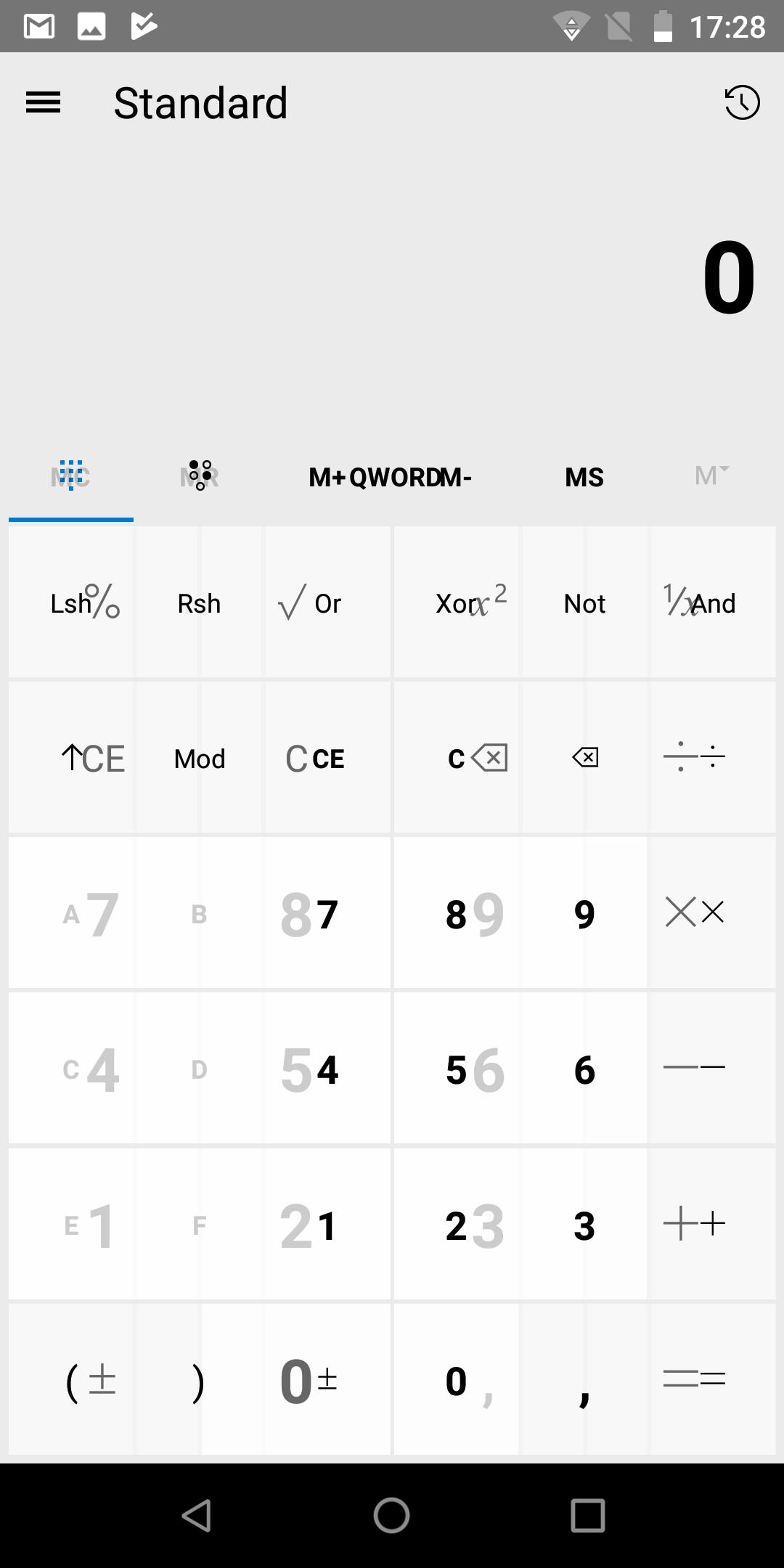 Uno Calculator: تطبيق جديد يقوم بإحضار آلة حاسبة ويندوز 10 إلى جهاز أندرويد