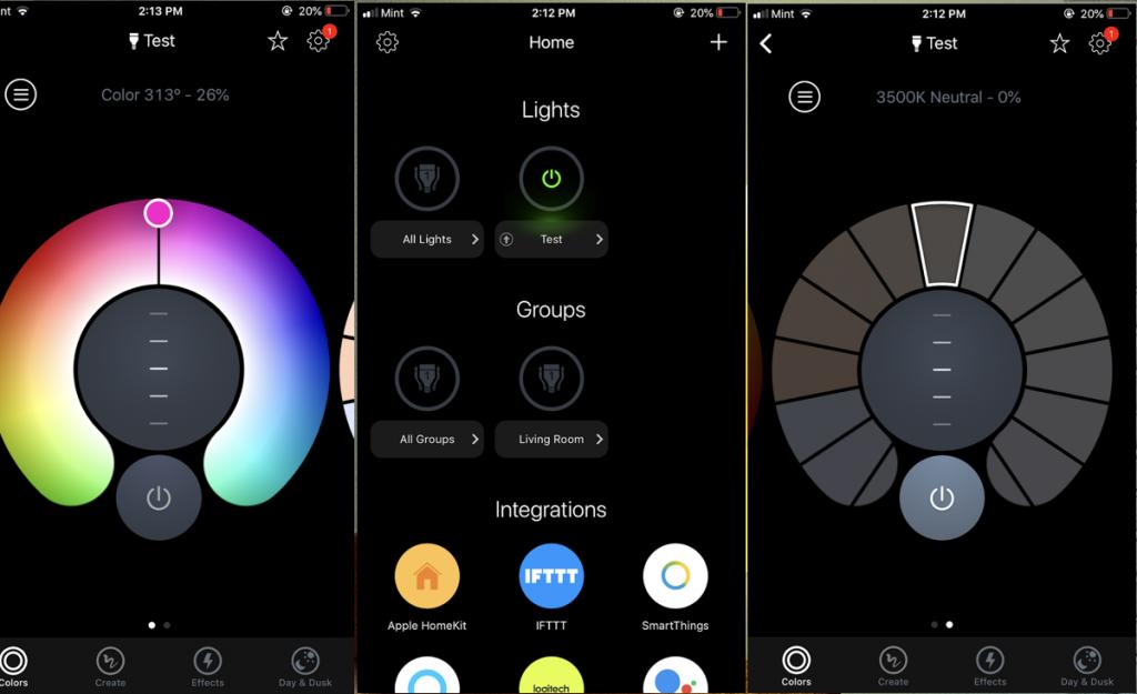 تطبيق المصابيح الذكية من LIFX