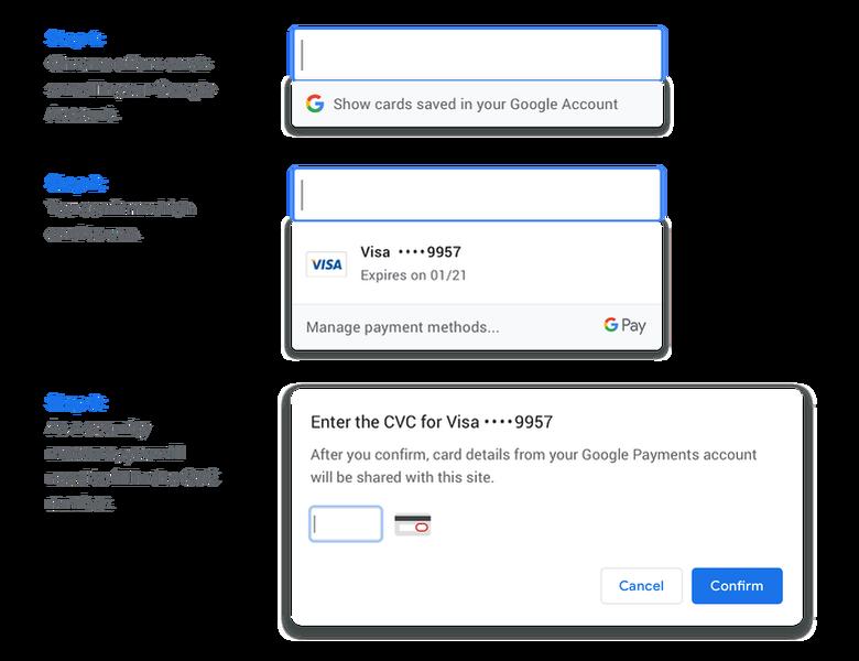 متصفح كروم الآن يدعم مزامنة خيارات الدفع لخدمة Google Pay