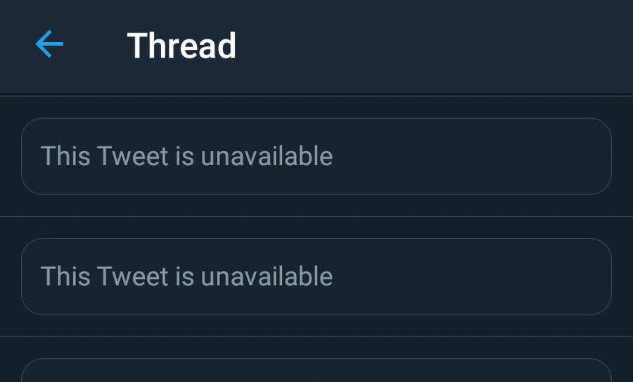 """تويتر ستوضح سبب عبارة """"هذه التغريدة غير متاحة"""""""