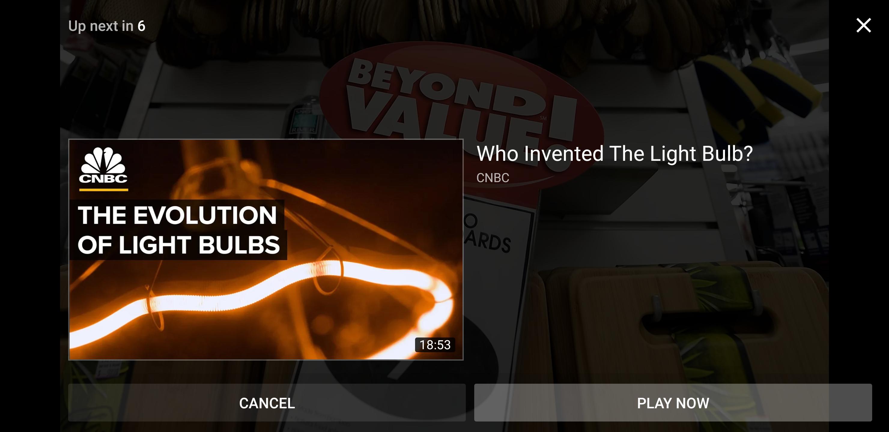 """يوتيوب يعرض تصميم جديد لشاشة """"الفيديو التالي"""" على أندرويد"""