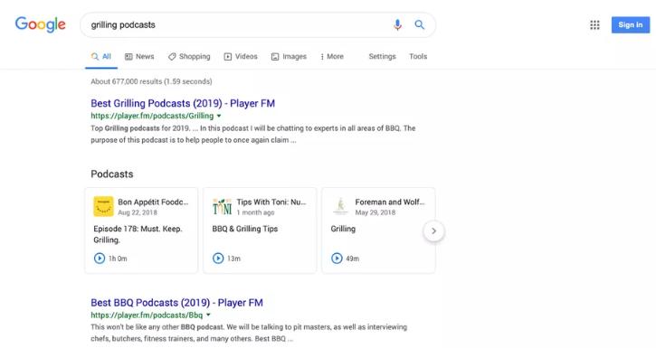 جوجل تسهّل البحث عن البودكاست وتحسّن عرضها ضمن النتائج