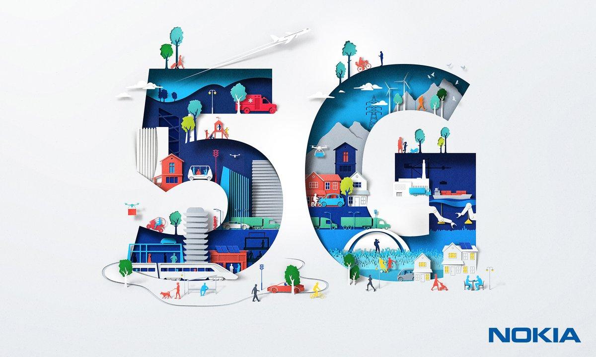 نوكيا تريد إطلاق هاتف يدعم شبكات الجيل الخامس 5G بسعر في المتناول