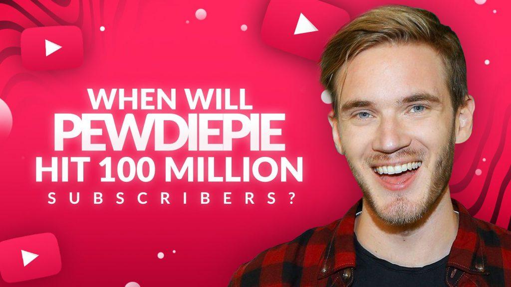 PewDiePie أول قناة يوتيوب شخصية تتجاوز 100 مليون مشترك