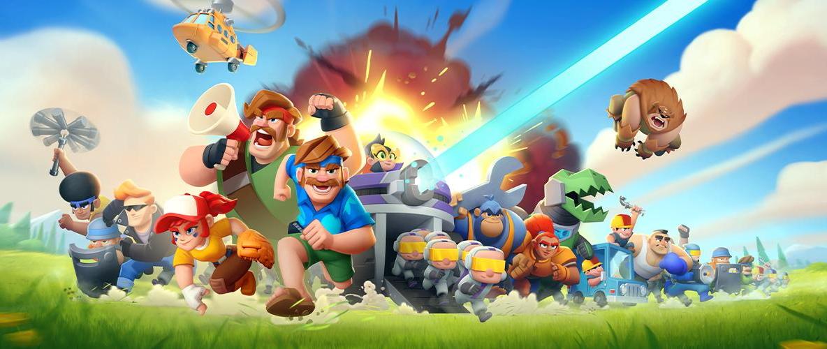 Rush Wars لعبة استراتيجية قتالية من Supercell متاحة الآن بالإصدار التجريبي