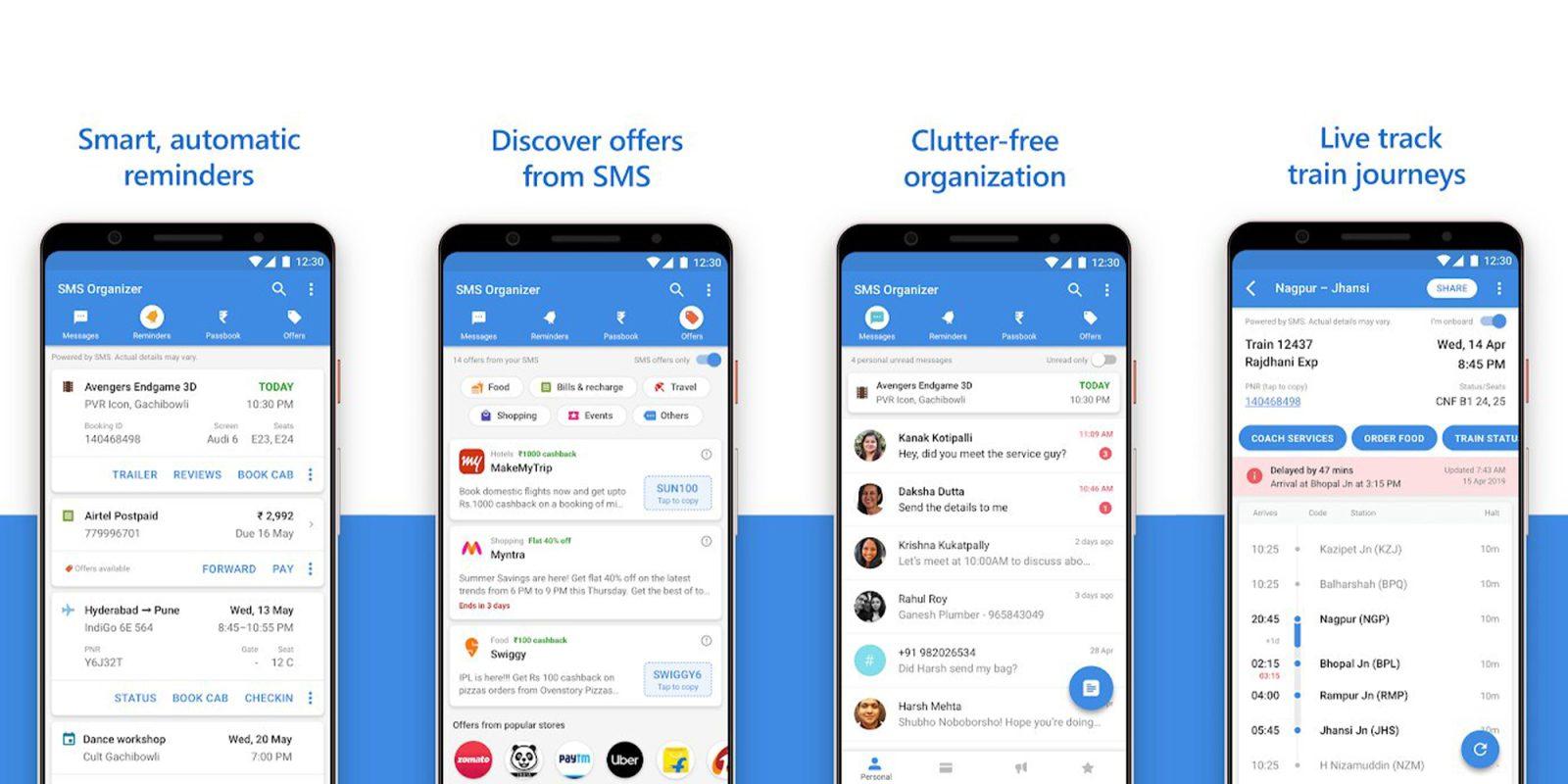 تطبيق SMS Organizer من مايكروسوفت أصبح متاح بالعديد من المناطق الجديدة