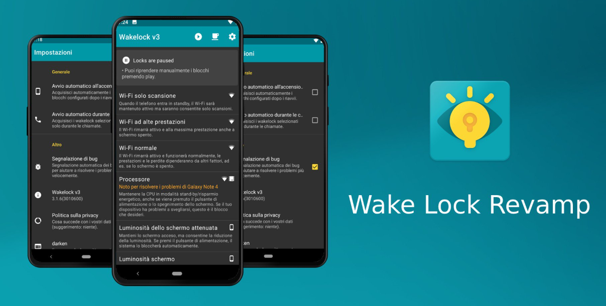 Wake Lock Revamp