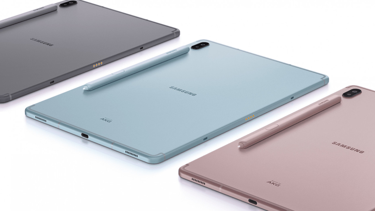 كشفت سامسونج عن الجهاز اللوحي Galaxy Tab S6 رسمياً