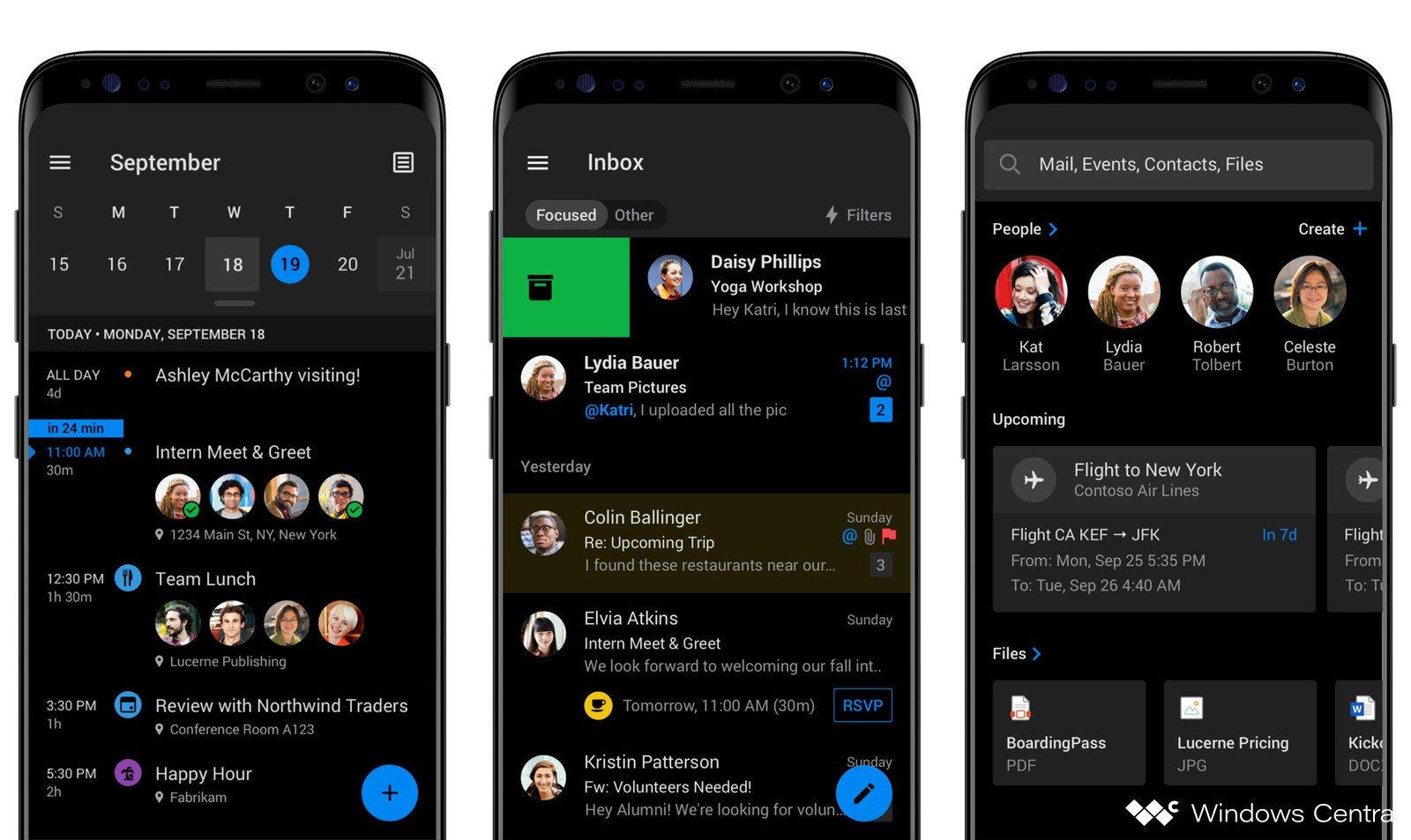 تطبيق آوتلوك من مايكروسوفت يحصل أخيرًا على الوضع المُظلم