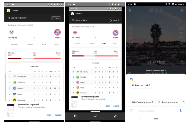 نسخة تجريبية من تطبيق بحث جوجل تأتي بميزة البحث باستخدام لقطات الشاشة
